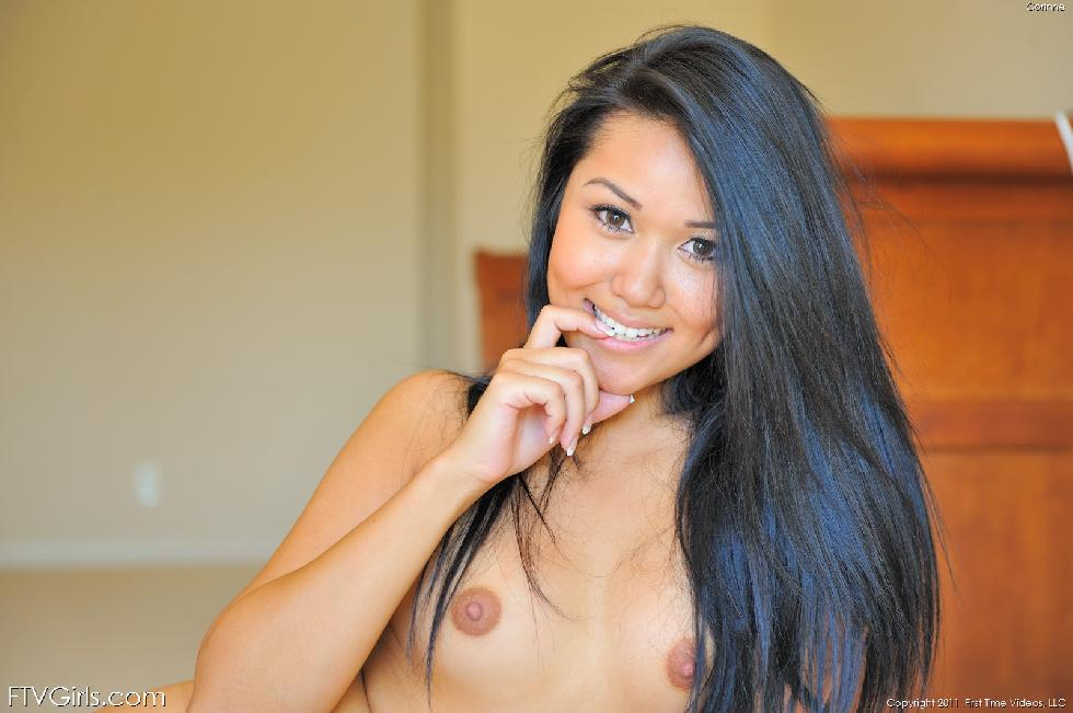 Gorgeous young Asian named Corinne - 11