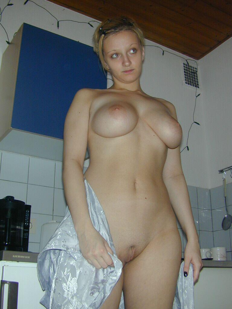 Blonde wife with big natural boobs - 22