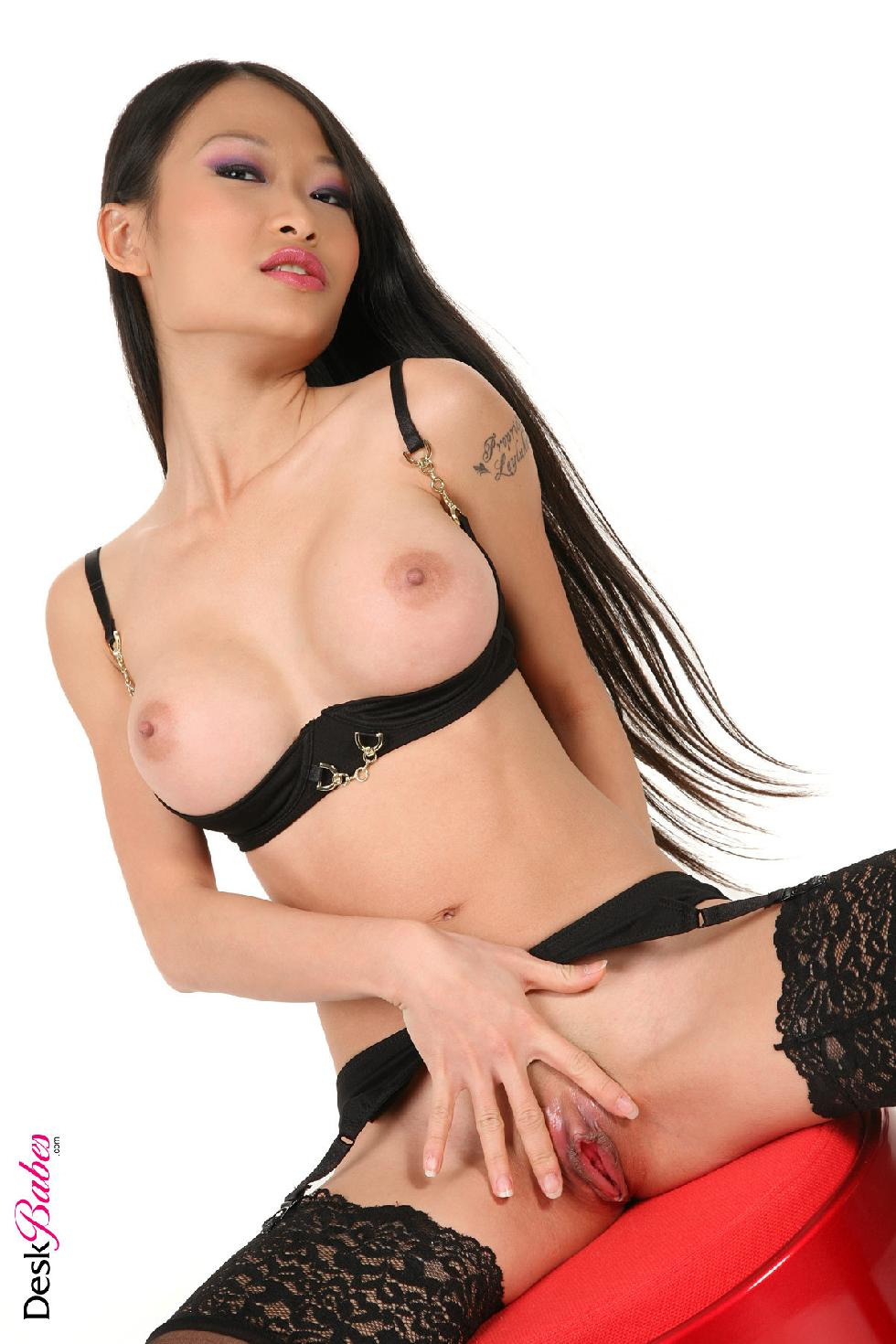 Sexy long-haired Asian chick - PussyKat - 10