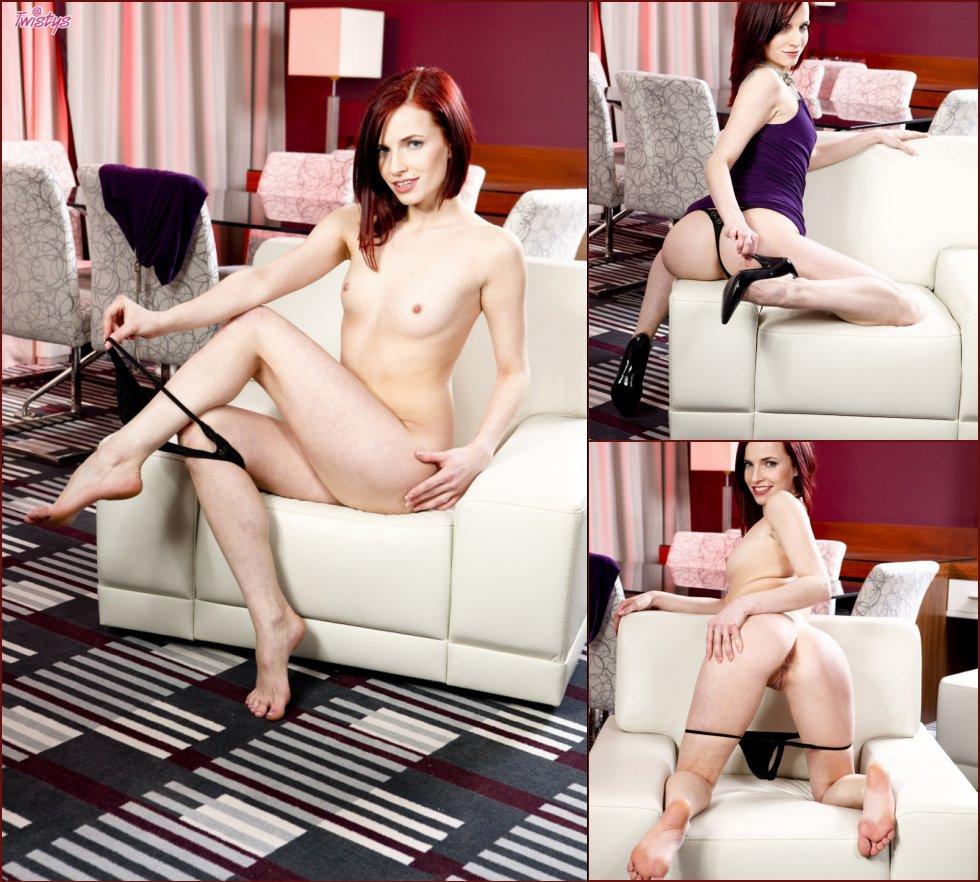 Cute and very horny redhead - Leila Smith - 78