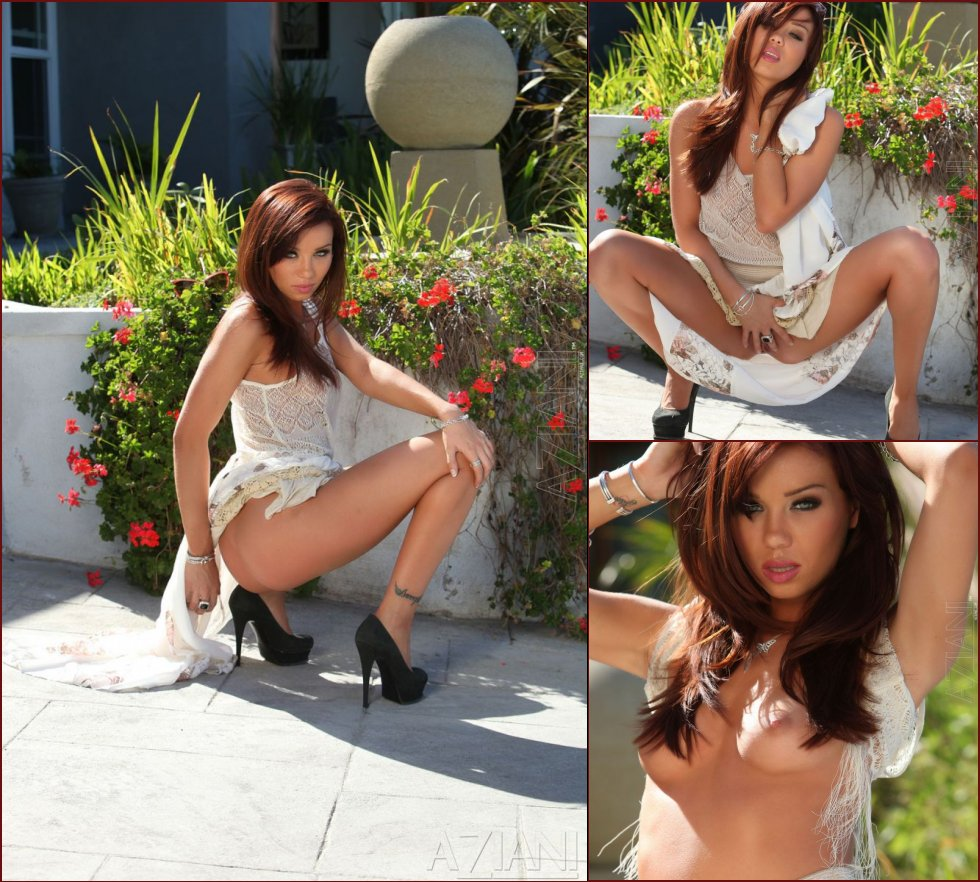 Hot redhead with amazing eyes - Capri Anderson - 49