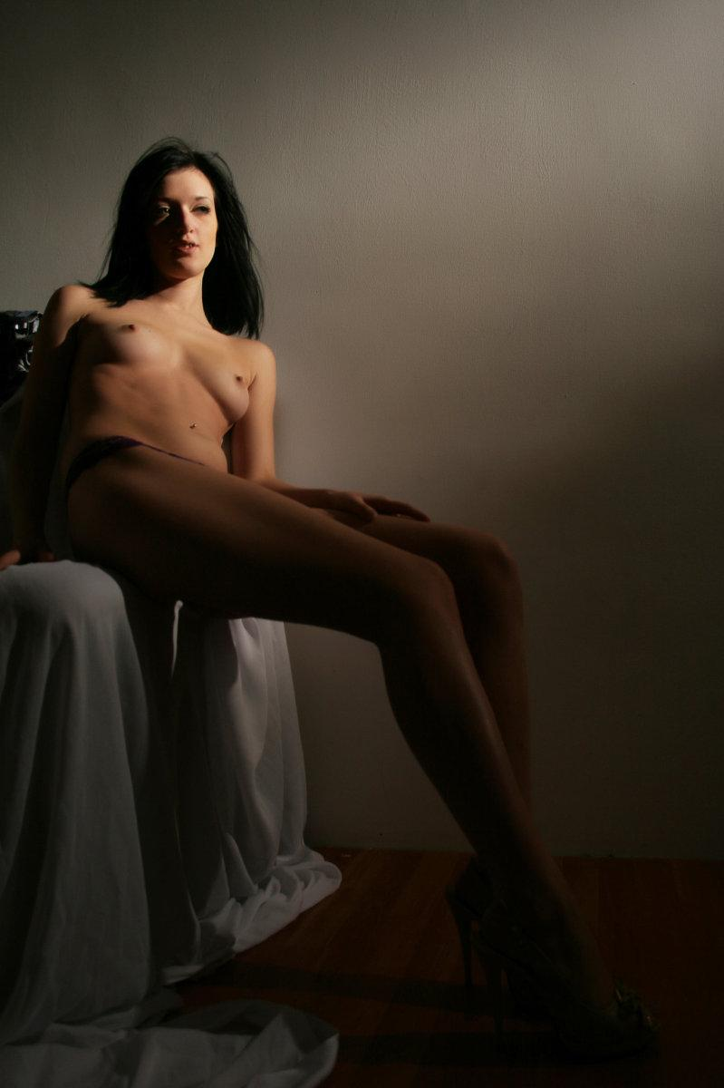 Professional session with leggy brunette - Sonya - 6