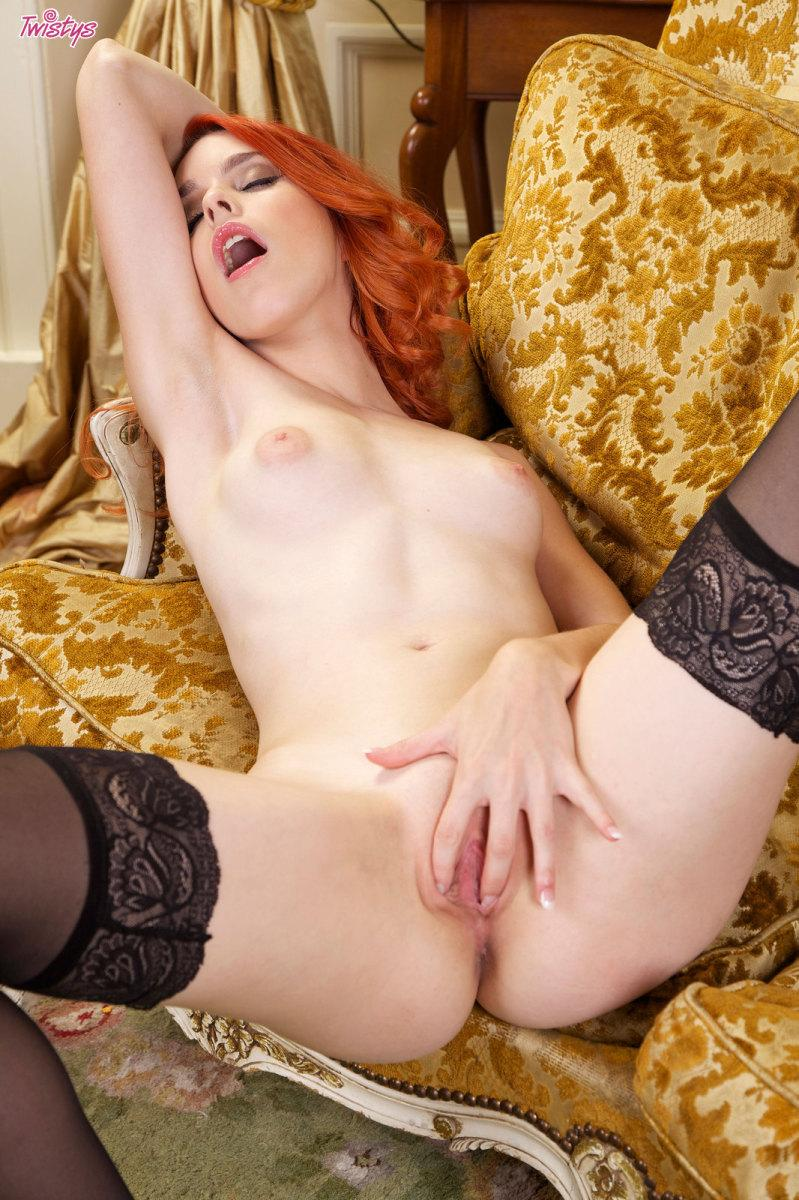 Amarna miller sexy redhead loves a creampie in her pussy - 1 part 10