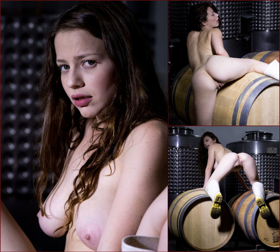 Horny brunette with long friend - Avri Norwood - 20