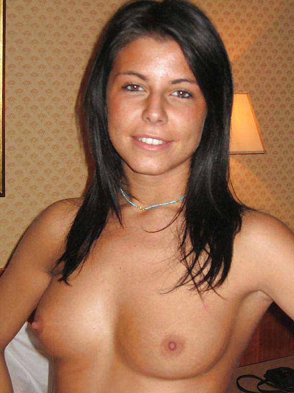 Wonderful tanned girl shows great body - 10
