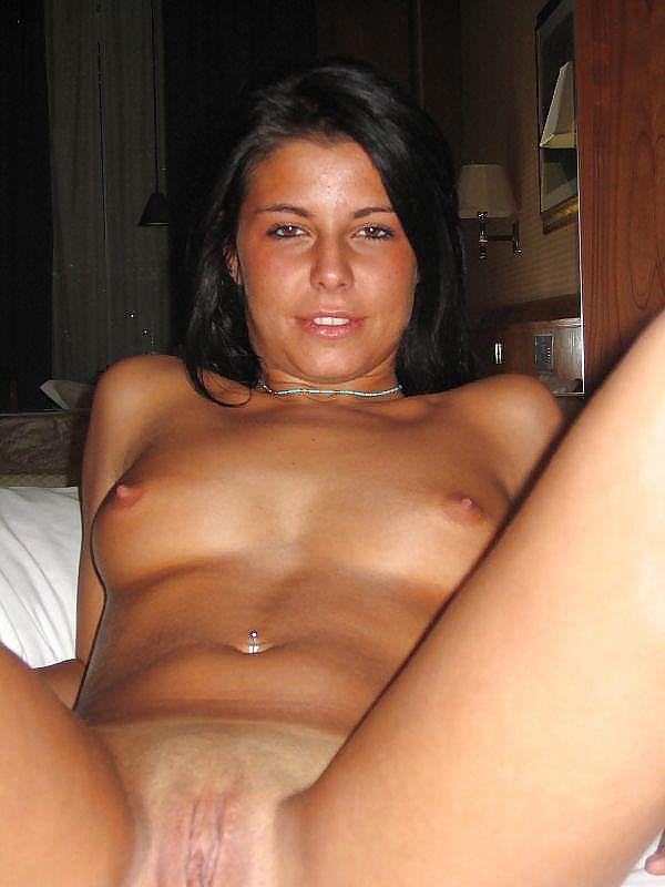 Wonderful tanned girl shows great body - 4