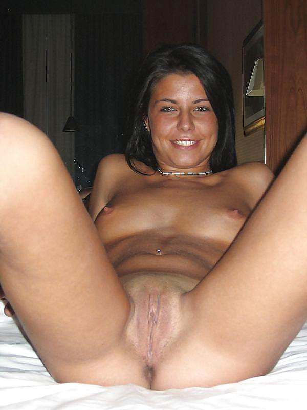 Wonderful tanned girl shows great body - 6