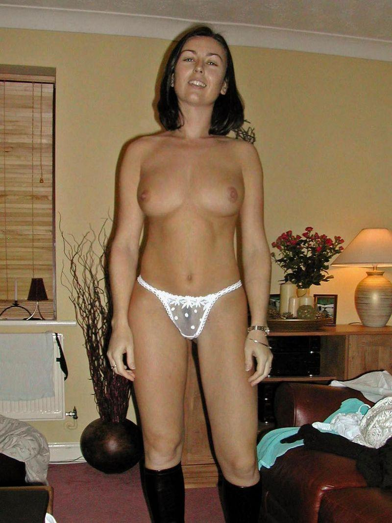 Amateur collection with hot brunette - 7