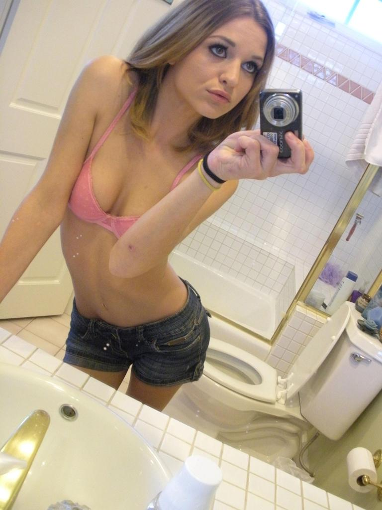 Magnificent amateur in the bathroom - 11