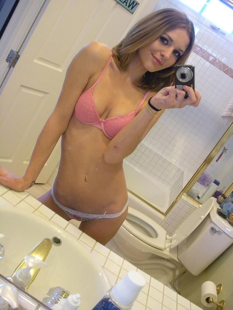 Magnificent amateur in the bathroom - 12