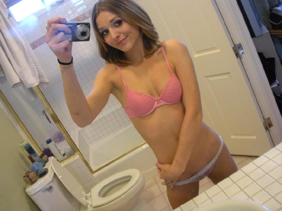 Magnificent amateur in the bathroom - 14
