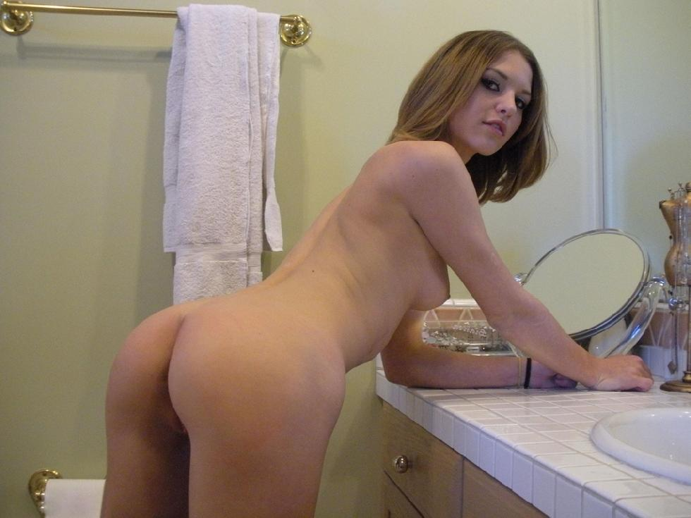 Magnificent amateur in the bathroom - 19