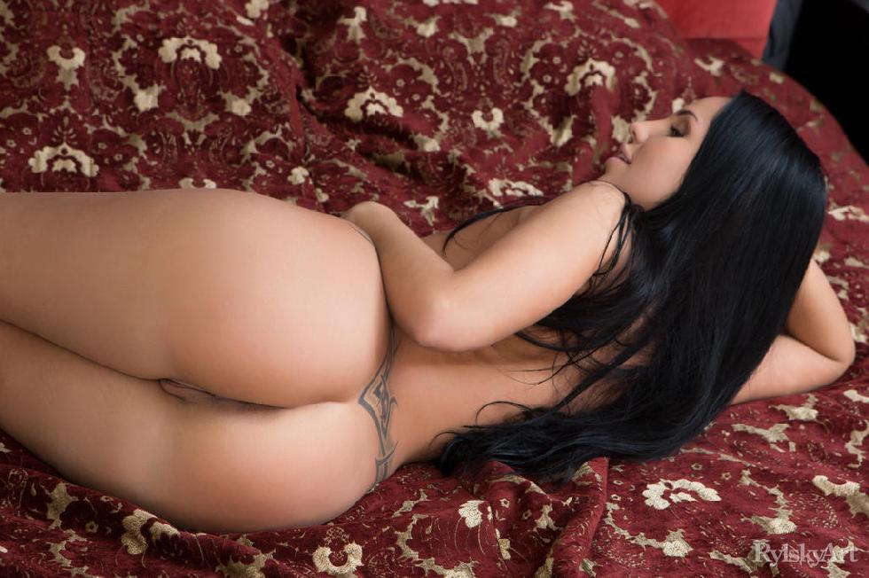 Long-haired brunette with amazing ass - Sable Sharp - 10