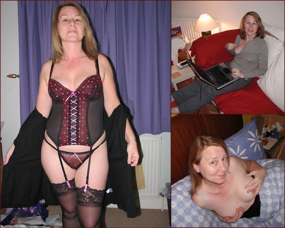 MILF in sexy stockings - 27