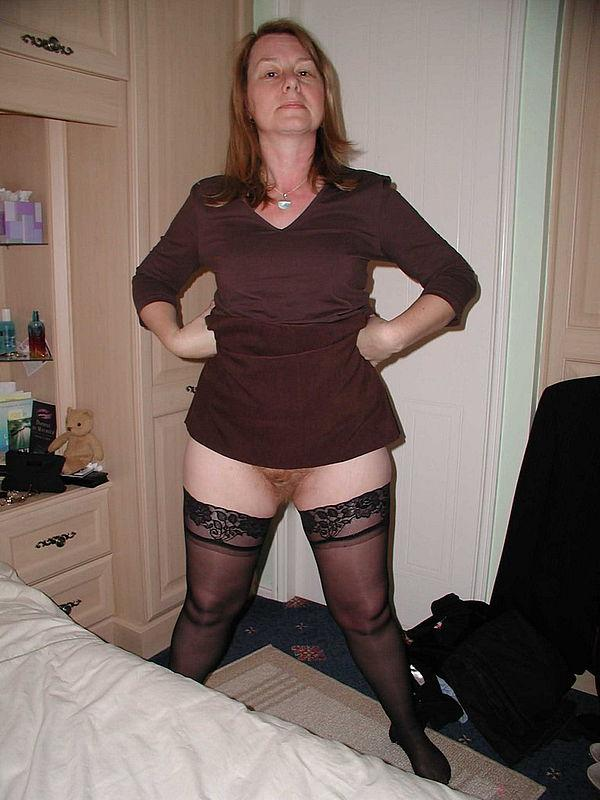 MILF in sexy stockings - 10