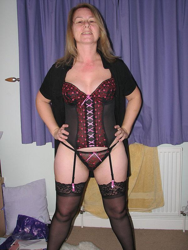MILF in sexy stockings - 5