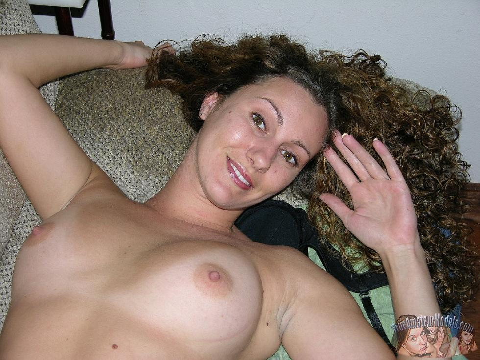 Curly-haired girl with trimmed pussy - Tiffany - 13