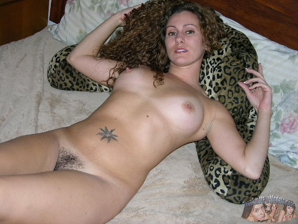Curly-haired girl with trimmed pussy - Tiffany - 14