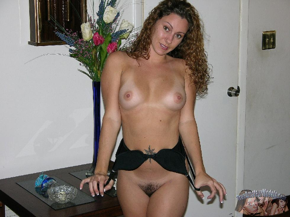 Curly-haired girl with trimmed pussy - Tiffany - 9
