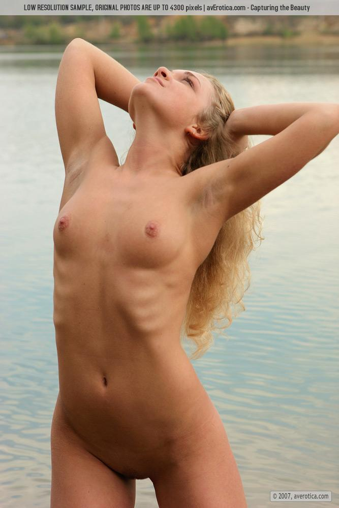 Naked Yana on the beach - 14