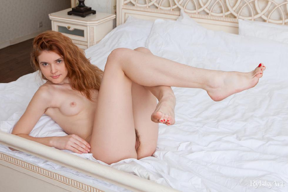 Orabelle Koivu has tight and hairy pussy - 12