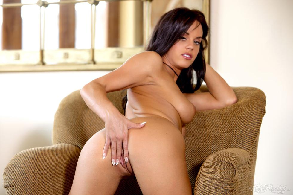Hot Rahyndee Jones is touching her meaty pussy - 15