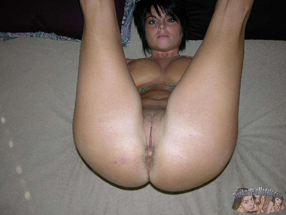 Brunette Dee is having fun on bed - 15