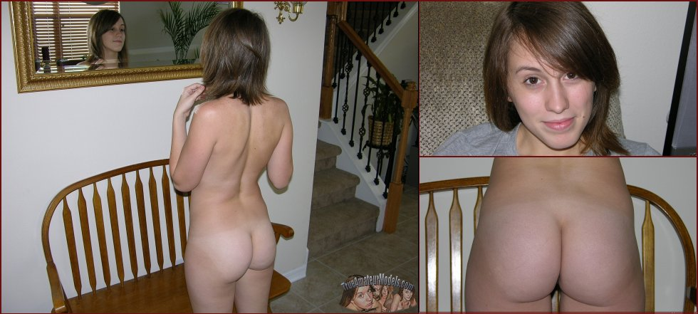 Young Robyn is proud of her round butt - 69