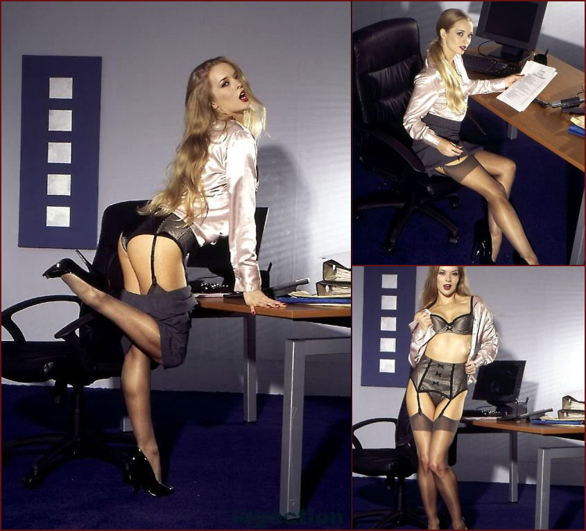 Hot secretary has a break at work - Tamara - 45