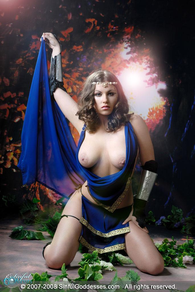 Beautiful warrior with big boobs - Mia - 10