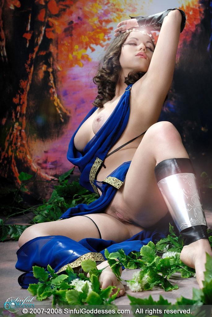Beautiful warrior with big boobs - Mia - 13