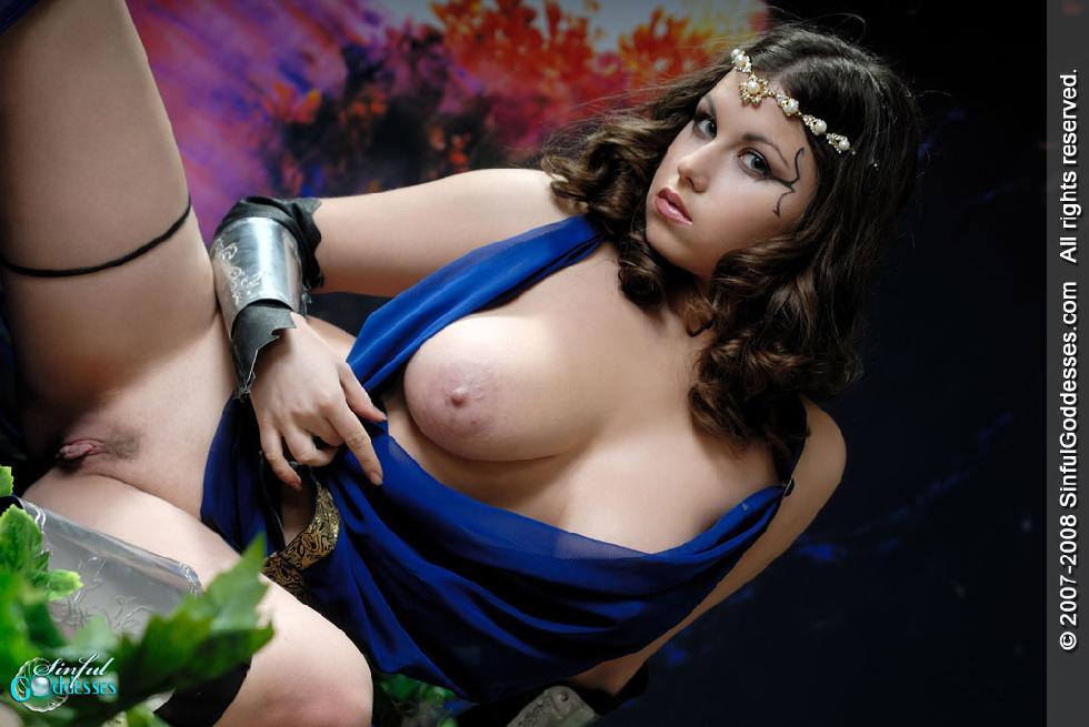 Beautiful warrior with big boobs - Mia - 14