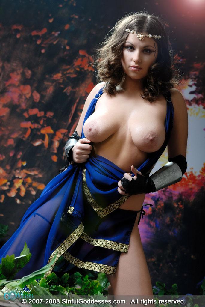 Beautiful warrior with big boobs - Mia - 9