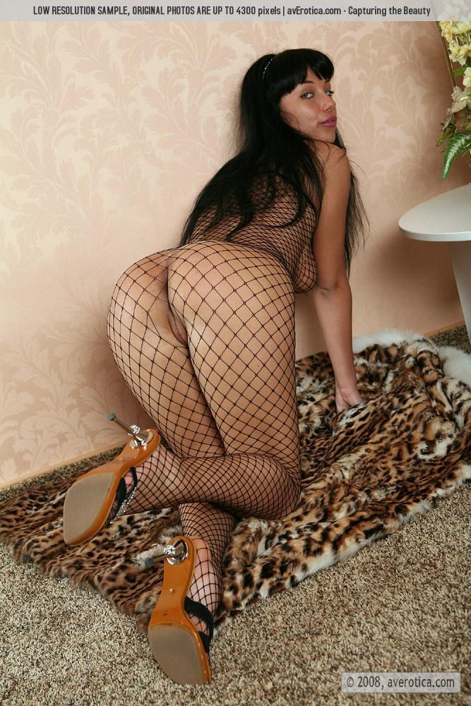 Helen is tempting in sexy bodystocking - 14