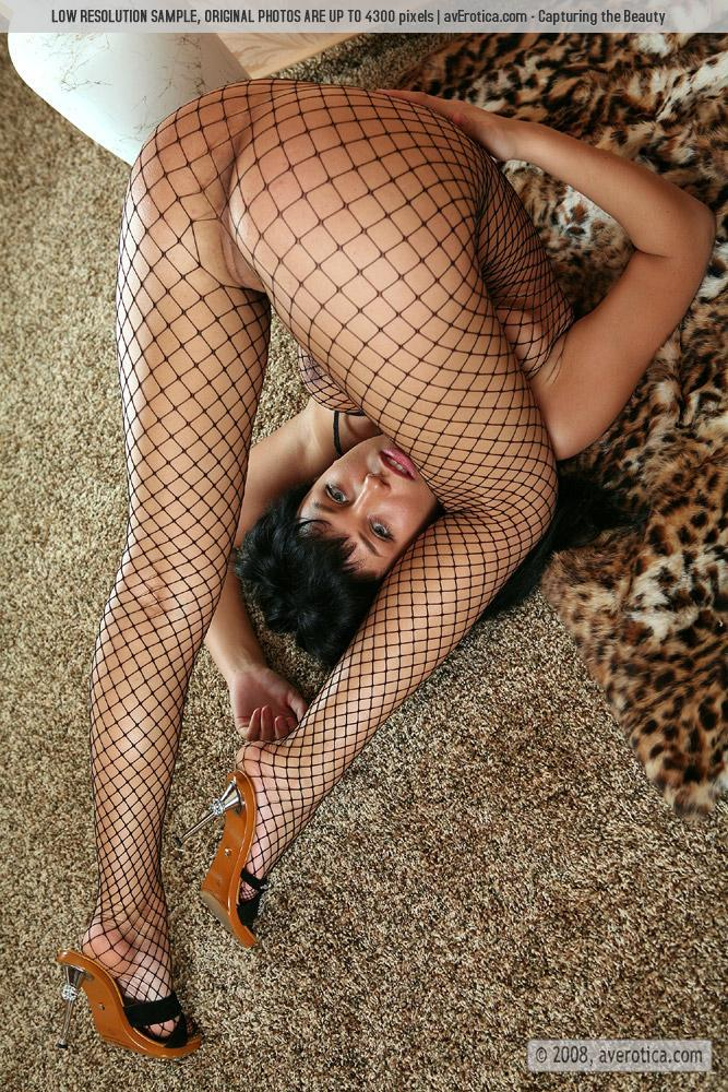Helen is tempting in sexy bodystocking - 16