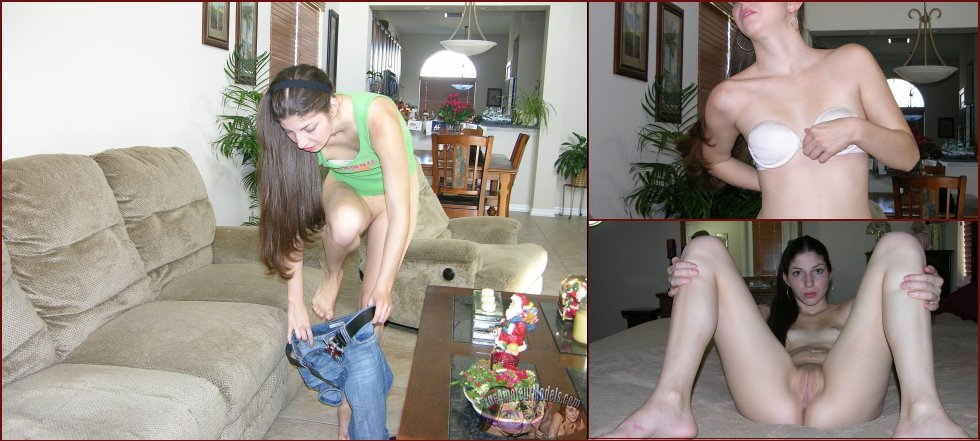 Naked Tatiana is showing her slim body - 55
