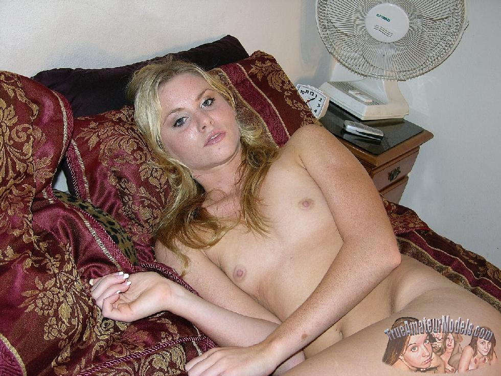 Blonde Katya likes to show her young pussy - 8