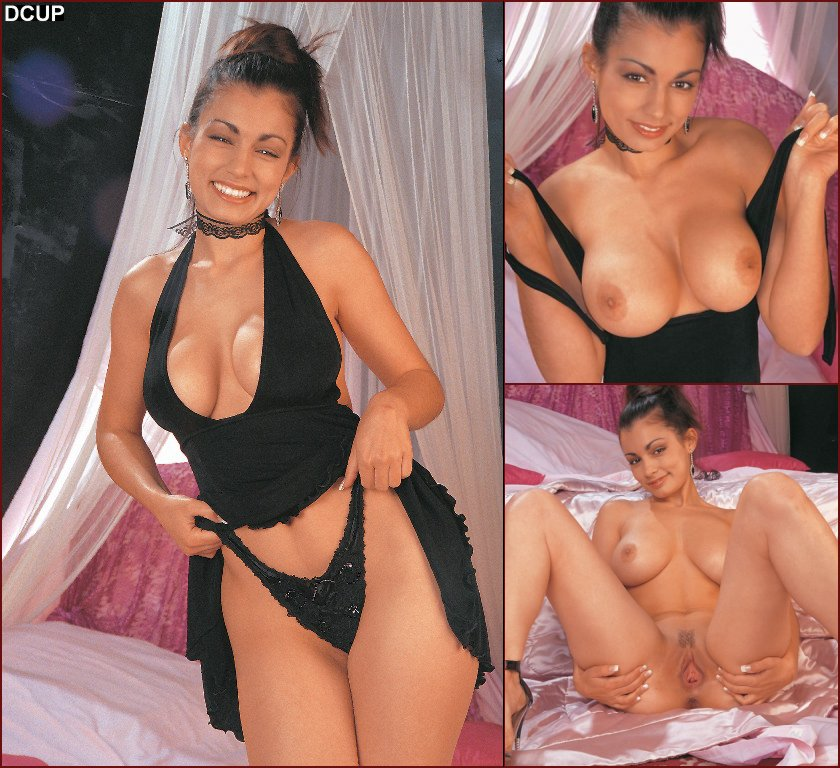 Sexy Aria Giovanni uses purple vibrator - 68