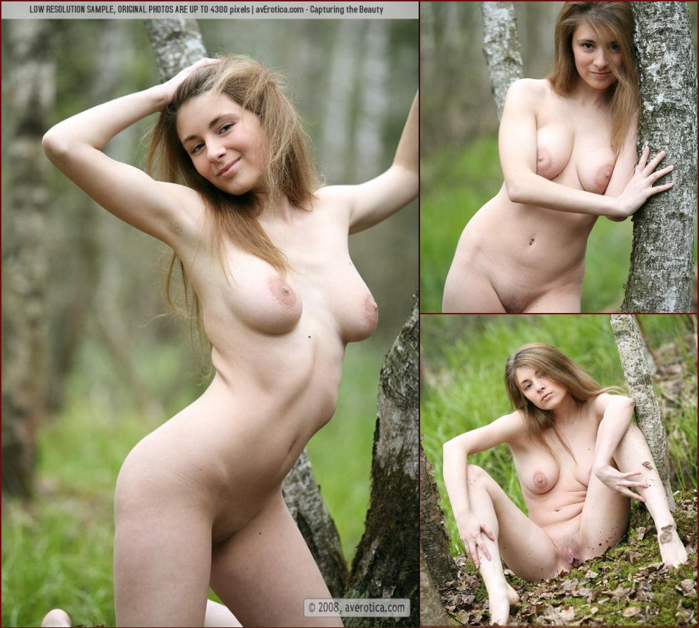 Naked session in the forest with sensual Leticia - 93