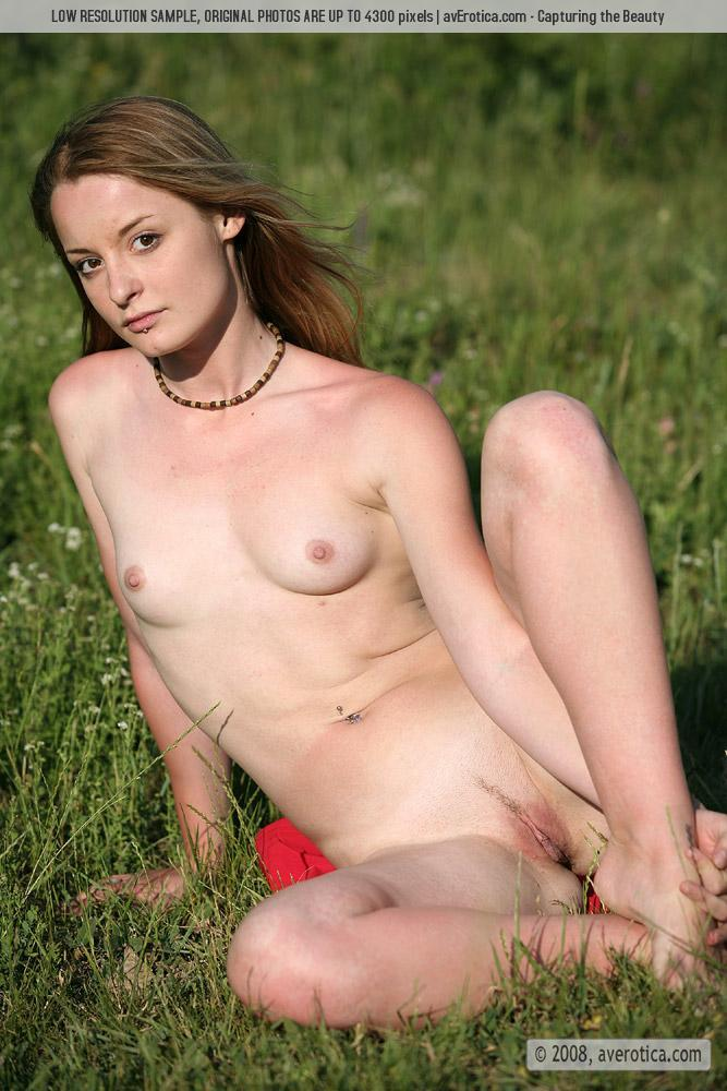 Val is performing striptease on the field - 16