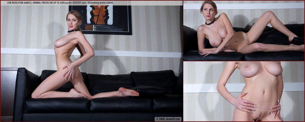 Naked Katy shows wonderful natural breasts - 31