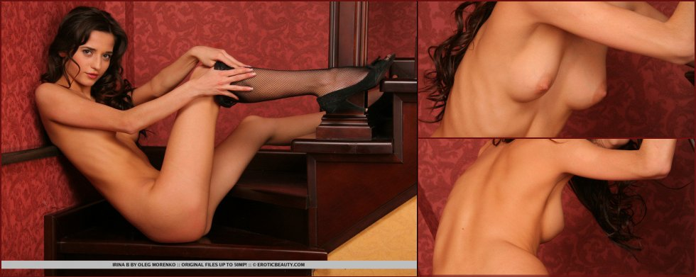 Brunette Irina loves to spread her legs - 23