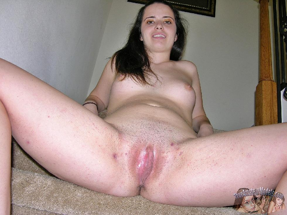 Brunette Hailey is showing her pleasure holes - 11