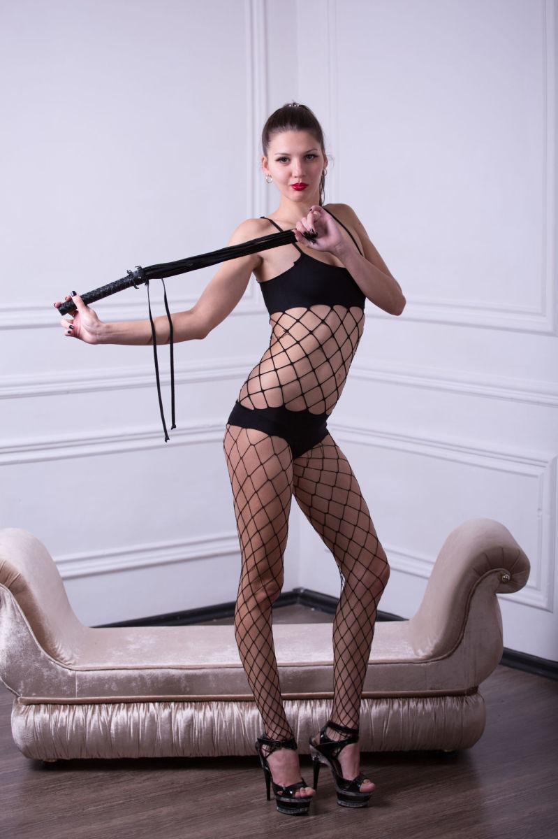Young domina in sexy bodystocking - Abigail (12 pics