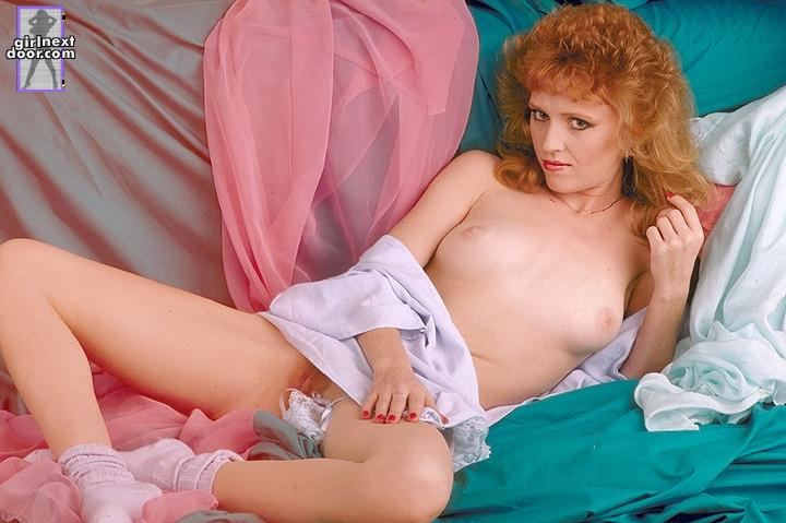 Redhead is showing red-haired pussy - Nikki - 8