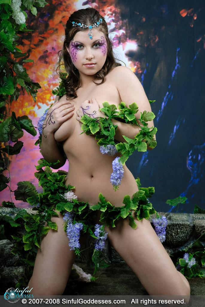 Forest princess shows amazing body - Mia - 2