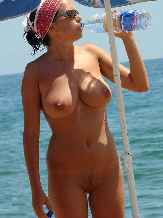 Topless and nude amateurs on the beach. Part 2 - 1
