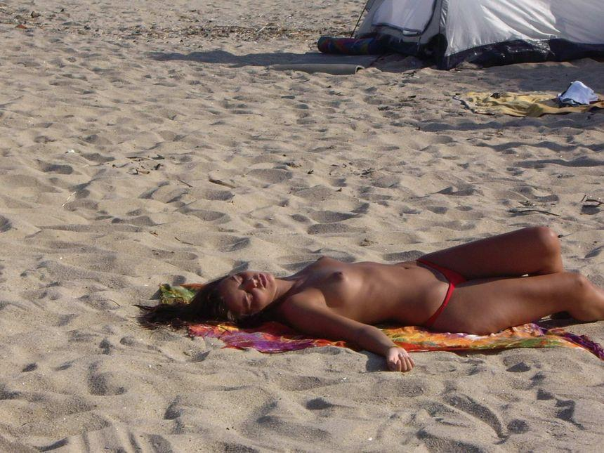 Topless and nude amateurs on the beach. Part 2 - 20