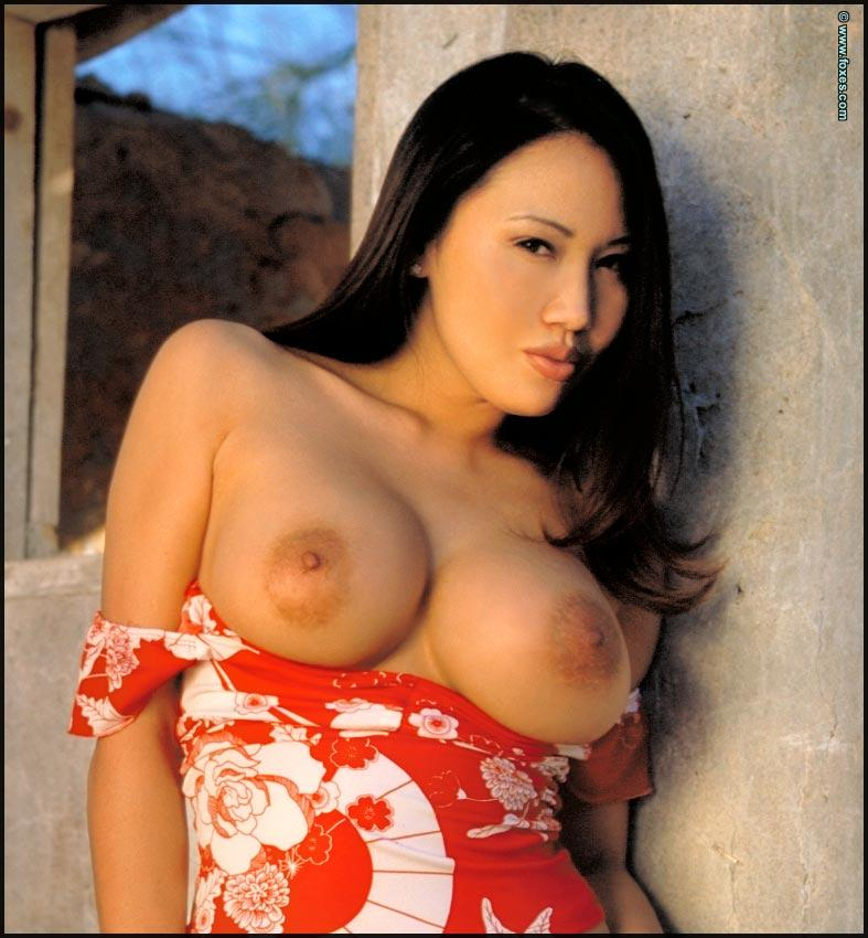 Sensual Asian babe with big tits - Kristen Muranaga - 8