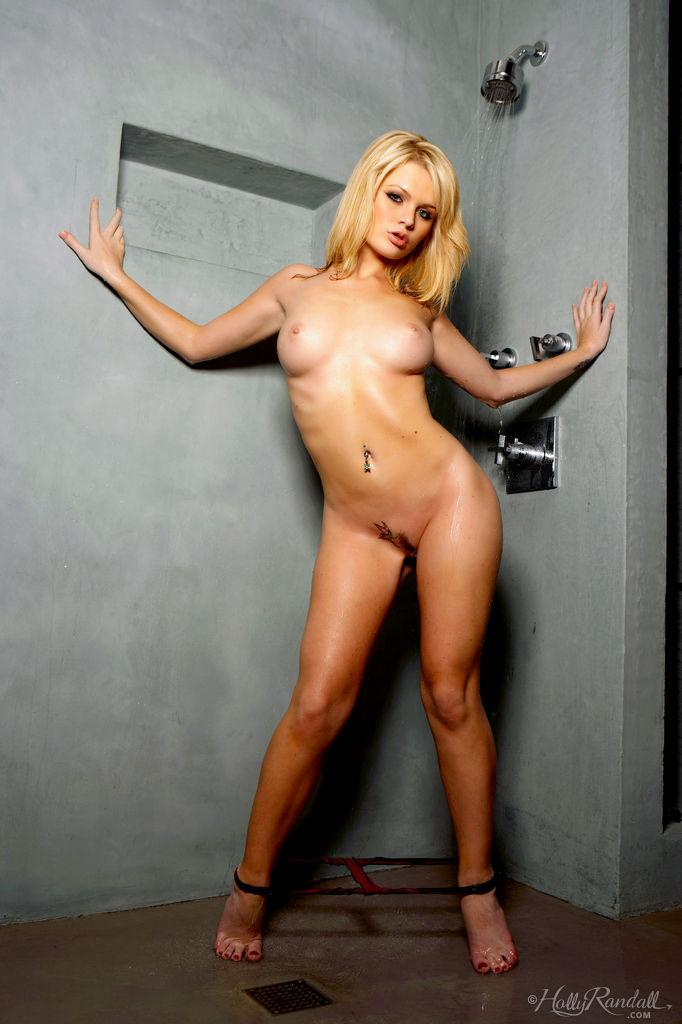 Alexis Ford is taking sensual shower - 8